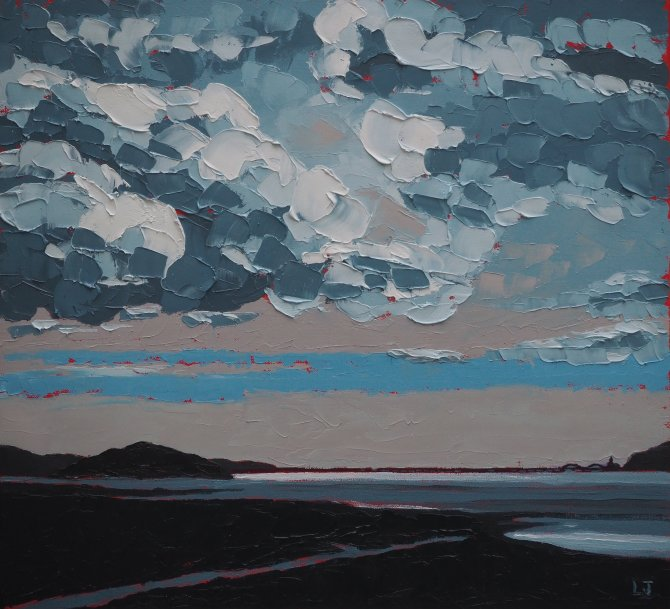 Clouds over Mawddach estuary