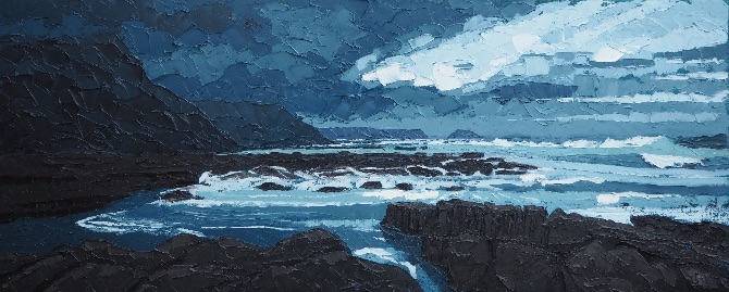 Storm over Anglesey Coast