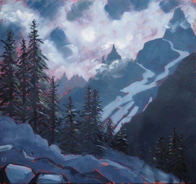 Tour de Mont Blanc, Val Venney