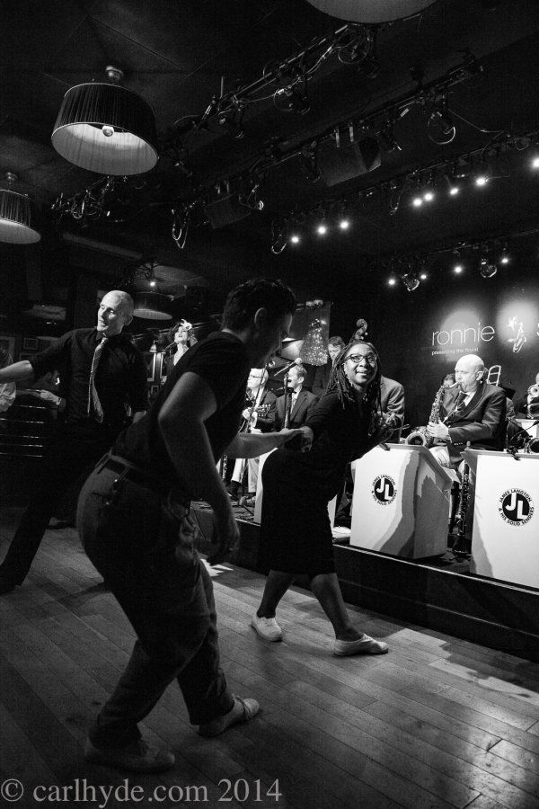 Dancers at a Sunday session with the James Langton Band