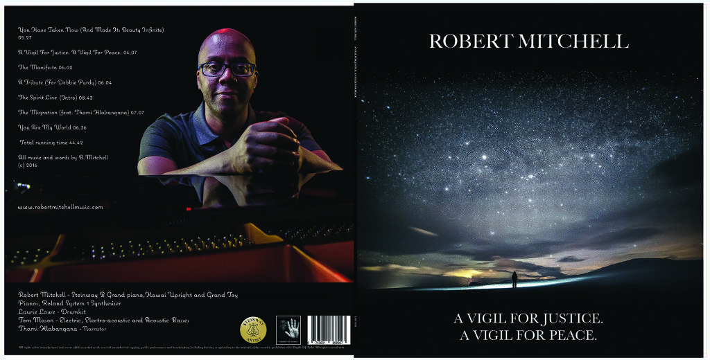Robert Mitchell's new album. Back cover photography and all artwork by Carl Hyde