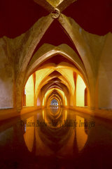Royal bath in the Alcazar.