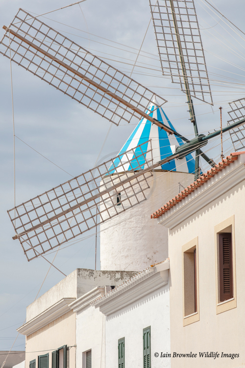 Windmill at Sant Lluis.