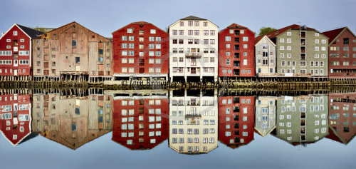 Old Warehouses in Trondheim