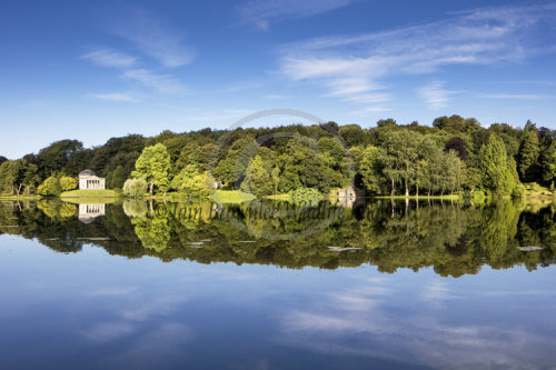 Reflections on Stourhead Lake