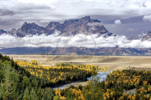 Snake River Outlook - Grand Tetons