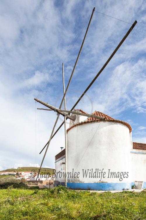 Windmill in Portugal