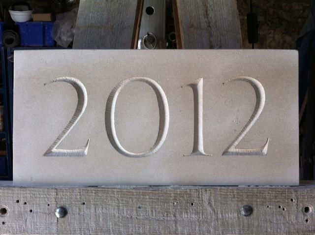 2012 Date Stone