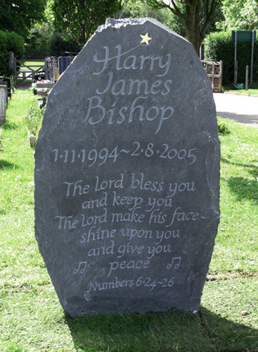 Harry's Headstone