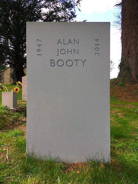 Booty headstone