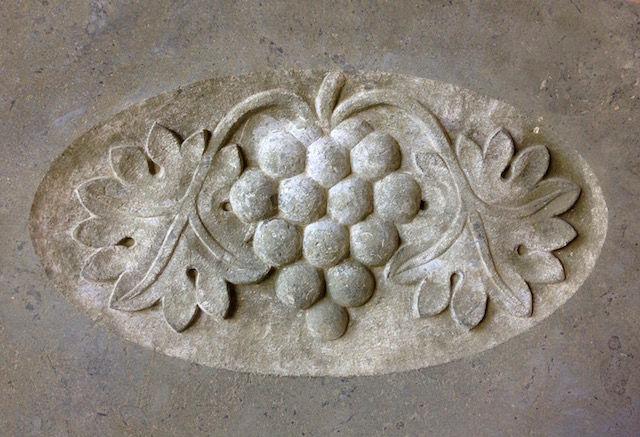 Boyd carving detail
