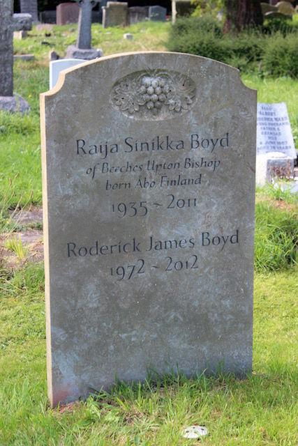 Boyd headstone
