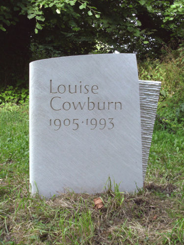 Louise Cowburns' Headstone
