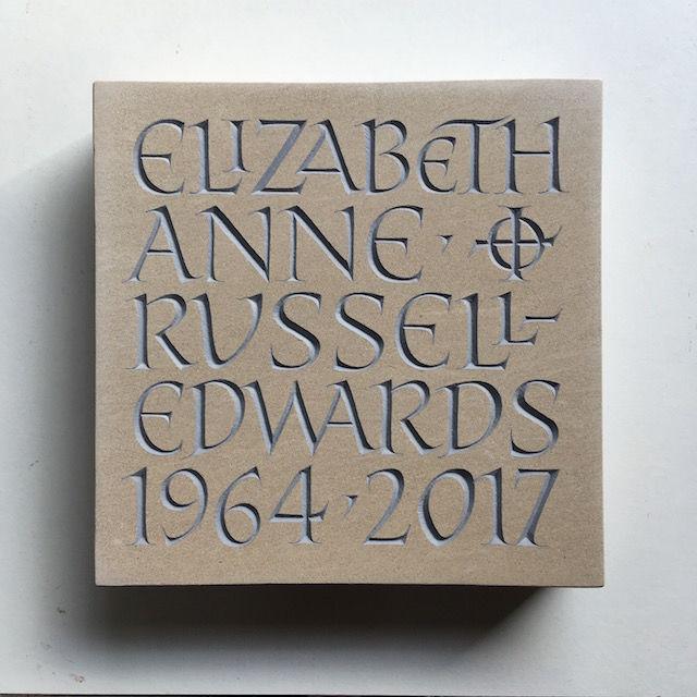 Elizabeth Russell cremation tablet