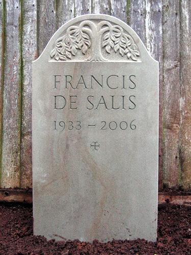 Francis De Salis' Headstone
