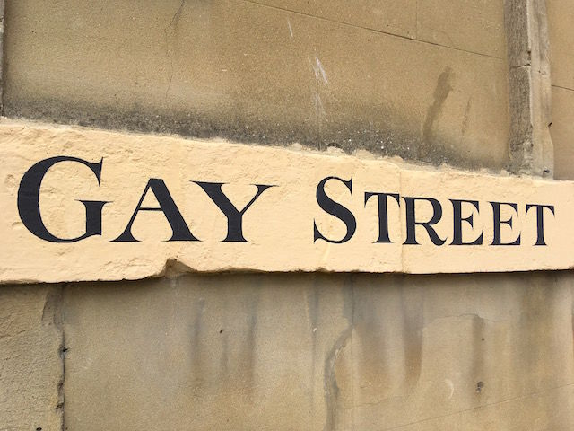 Gay street after