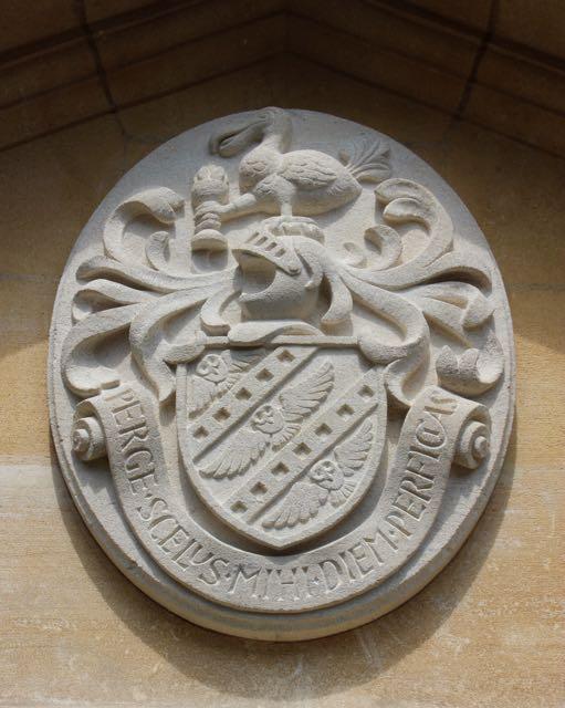 Heraldic Crest detail