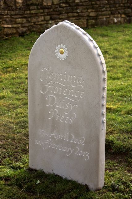 Jemima's Headstone