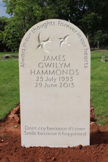 James' Headstone