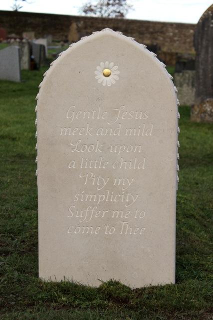 Jemima's Headstone, reverse