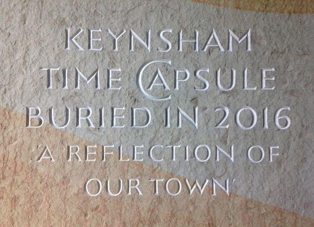 Keynsham Time Capsule Marker Stone