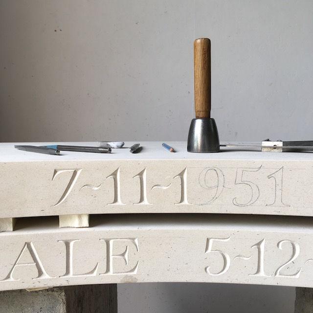 Memorial bench WIP
