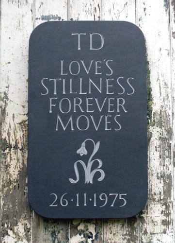 A Still Born memorial