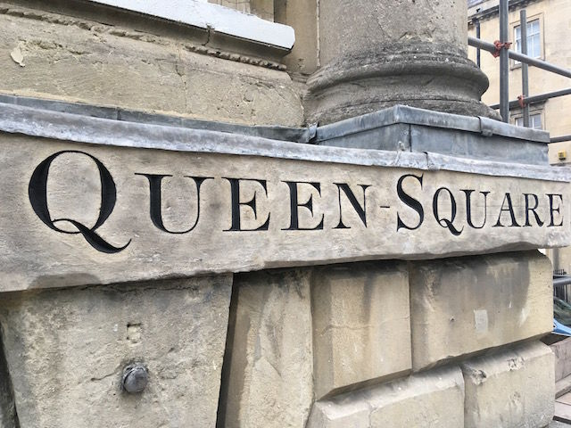 Queen square after