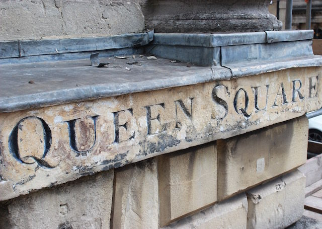 Queen square before