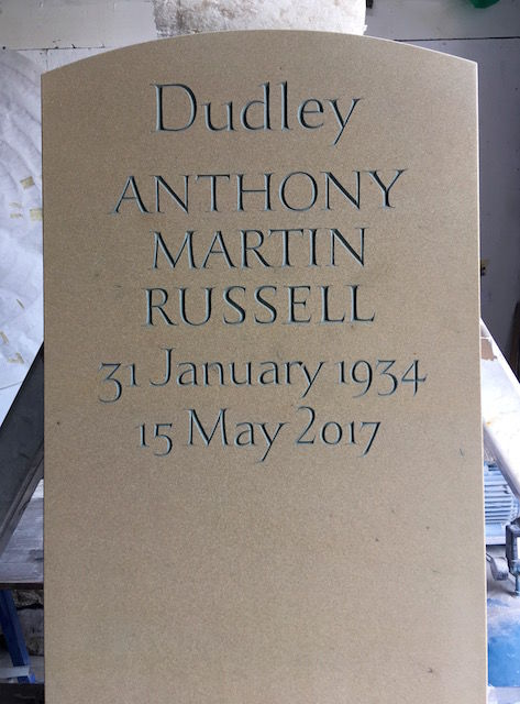 Russell headstone