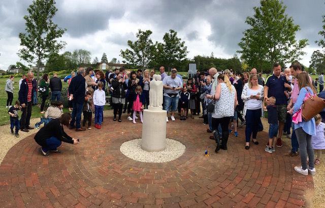 SANDS Memorial Sculpture unveiling