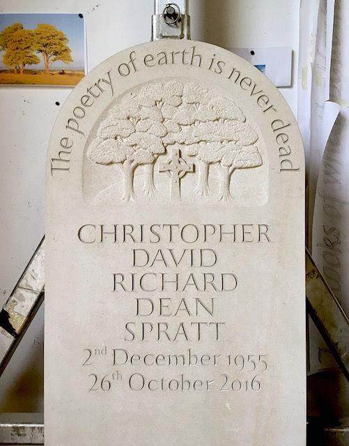 Spratt headstone
