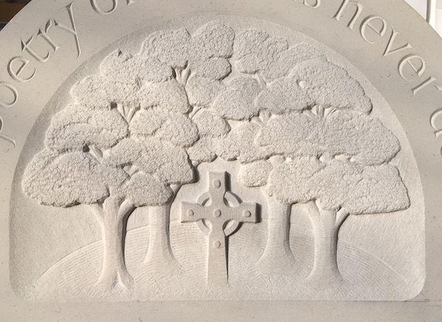 Spratt headstone detail