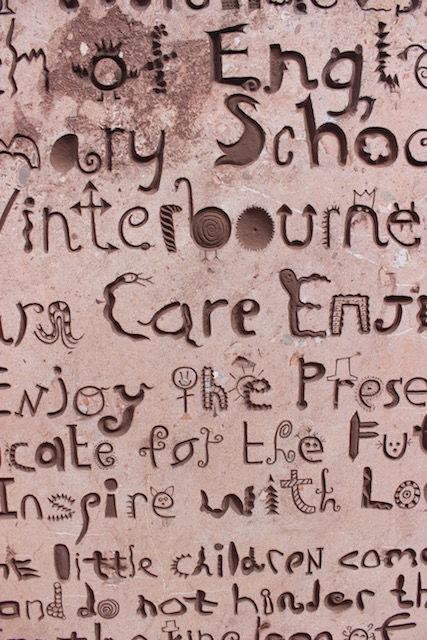 St michael's school commission, detail