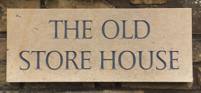 The old store house house sign