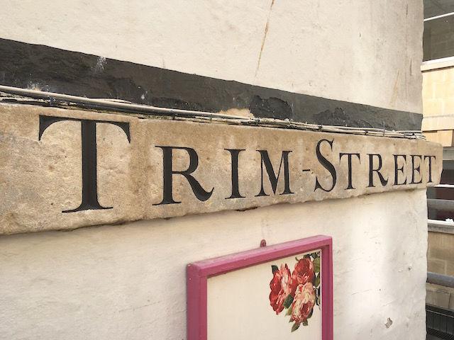 Trim street after