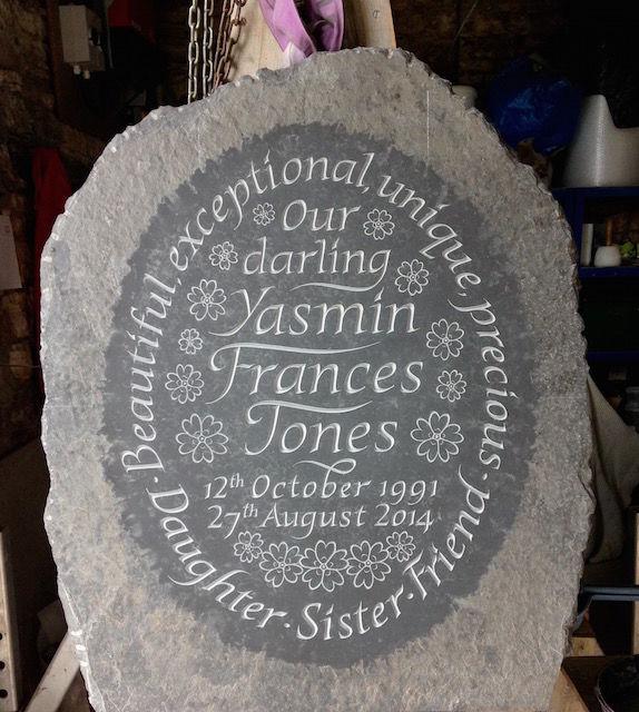 Yasmin's stone