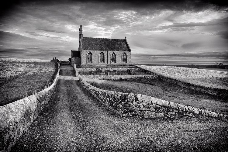 Kingsbarns Church, @ Sunrise