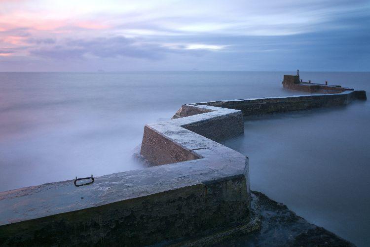 Zig-Zag pier, St Monans, Fife