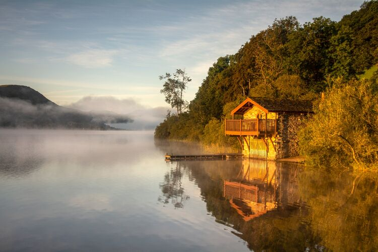 Boathouse, Pooley bridge, Lake district