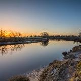 Sunrise @ river forth, Stirling