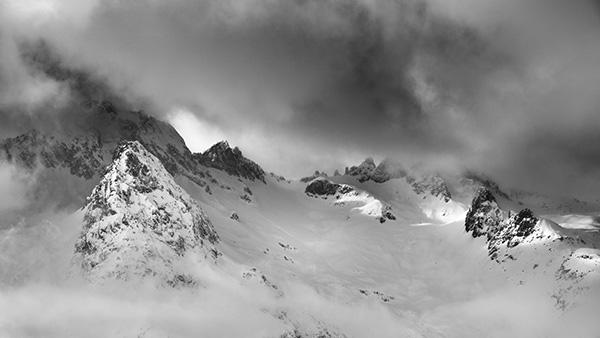 Valmorel Mountains