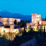 Alhambra at Night - Colour