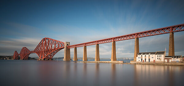 Forth Bridge and Queensferry Lifeboat Station