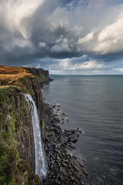 Mealt Waterfall, Skye
