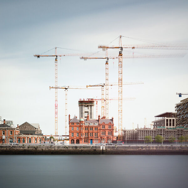 Dublin - Tower Cranes