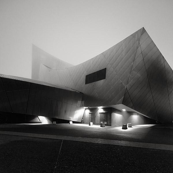 War Museum in the Mist