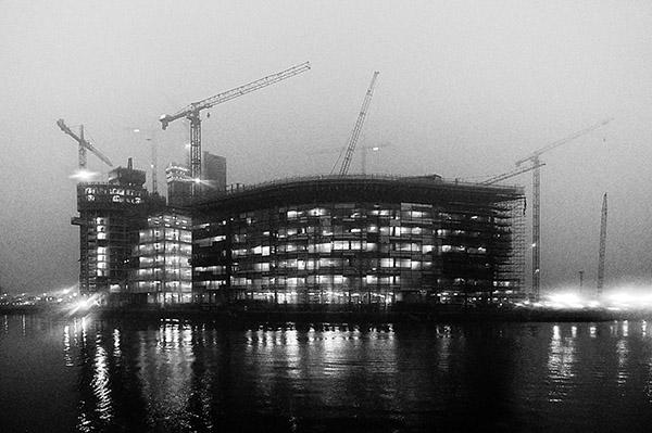 Media City, Manchester, November 2008.