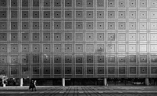 L'Institut du Monde Arabe, Paris