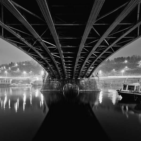 Cechuv Bridge, Prague